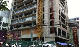Ì ạch gần thập kỷ giữa Thủ đô, dự án 131 Thái Hà bị 'sờ gáy'