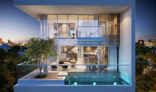 Ra mắt dự án Serenity Sky Villas
