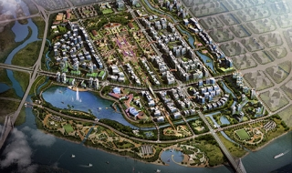 Khởi công xây dựng hạ tầng kỹ thuật gần 10.000 tỷ Khu đô thị Bắc sông Cấm
