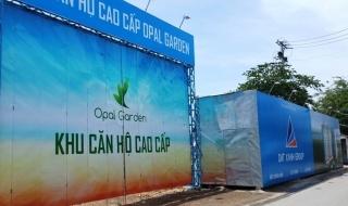 Đất Xanh: Không có việc dự án Opal Garden bị đình chỉ thi công