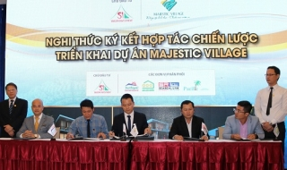 Đầu tư Sài Gòn ký kết hợp tác triển khai dự án Majestic Village