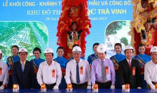 Khởi công và mở bán nhà phố dự án HQC Trà Vinh