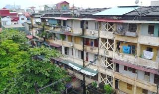 Cải tạo chung cư, tập thể cũ: Băn khoăn mức độ nguy hiểm