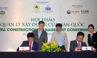Hoàng Quân ký hợp tác việc sử dụng công cụ Quản lý xây dựng