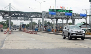 Chưa giảm phí qua Trạm BOT Nam Bình Định