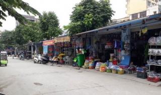 Hà Nội: 30 ki ốt 'mọc' trên KĐT An Lạc vẫn ung dung tồn tại