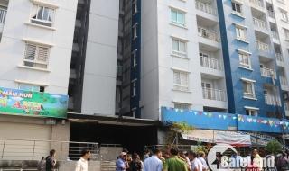 Cận cảnh chung cư cháy giữa đêm khiến 13 tử vong ở Sài Gòn