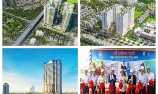 Dự án trong tuần: Khởi công D'. El Dorado II, động thổ HQC Hòa Phú và ra mắt căn hộ Orchid Park