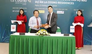 Khai trương nhà mẫu dự án căn hộ cao cấp La Cosmo