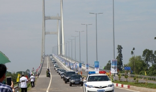 Khánh thành cầu Cao Lãnh 3.000 tỷ bắc qua sông Tiền