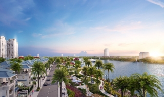 Khu đô thị Vạn Phúc: Công viên ven sông 3,4km dần hình thành