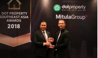 Dot Property Đông Nam Á 2018 vinh danh Chủ đầu tư CityLand