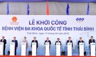 Khởi công bệnh viện lớn nhất tỉnh Thái Bình