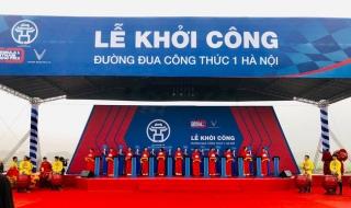 Hà Nội khởi công dự án Đường đua công thức 1 Hà Nội