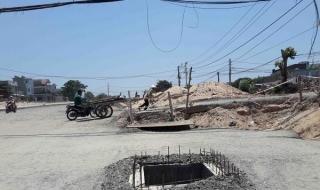 """Đà Nẵng: Dự án hành dân vì tiến độ """"rùa bò"""""""