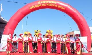 Đã Nẵng: Đưa vào khai thác tuyến đường 500 tỉ đồng