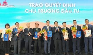 Bình Thuận trao quyết định chủ trương đầu tư cho dự án Thanh Long Bay