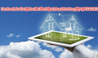 Sở Xây dựng TP.HCM vừa cho phép 18 dự án căn hộ 'trên giấy' được bán, cho thuê mua