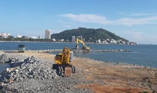 Bà Rịa - Vũng Tàu yêu cầu tạm dừng thi công dự án lấn biển