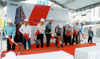Cất nóc Wínk Trung tâm Sài Gòn, khởi công Wínk 178 Trần Phú