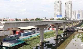 Điều chỉnh tổng mức đầu tư 2 tuyến đường sắt đô thị ở TP.HCM