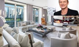 Căn hộ sang trọng 56 triệu USD của ngôi sao nhạc rock Sting