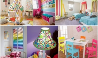 Căn phòng đầy màu sắc cho bé yêu