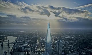 Ngắm tòa tháp nhọn chọc trời ở Anh