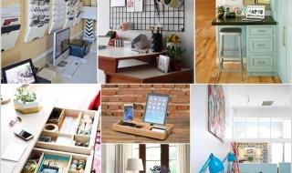 Ý tưởng sáng tạo giúp phòng làm việc tại nhà luôn gọn gàng
