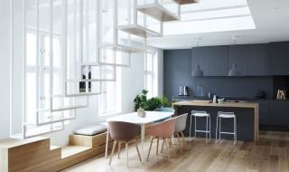 Ý tưởng thiết kế cầu thang cho nhà hiện đại
