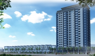 Phối cảnh nhà mẫu dự án Cienco4 Tower