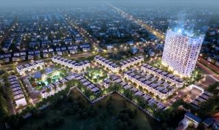 Phối cảnh tổng thể dự án Long Phú Residence
