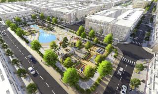 Phối cảnh dự án khu đô thị Asaka Riverside Long An