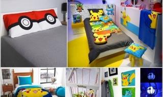 Thiết kế phòng ngủ cho bé dễ thương với Pokémon