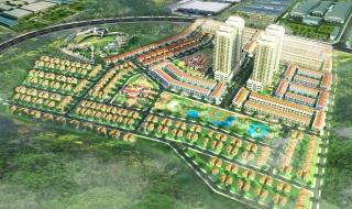 Phối cảnh dự án khu dân cư Phú Mỹ Gold City