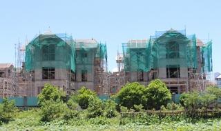 Cận cảnh dự án biệt thự cao cấp trong thung lũng hoa Hồ Tây