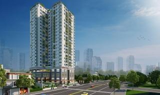 Phối cảnh 3D và nhà mẫu khu căn hộ ResGreen Tower Tân Phú