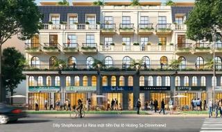 Phối cảnh dự án nhà phố thương mại La Rina Hà Tiên