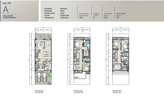 Mặt bằng chi tiết dự án The Mansions Hà Nội