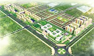 Phối cảnh dự án khu đô thị DTA City Nhơn Trạch