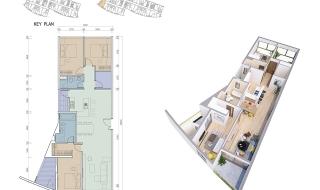 Mặt bằng chi tiết dự án I-Tower Quy Nhơn