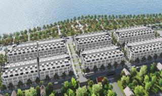 Phối cảnh dự án khu đô thị Việt Yên Lakeside City