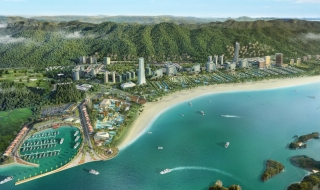 Phối cảnh dự án Sonasea Vân Đồn Harbor City Quảng Ninh