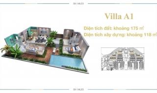 Mặt bằng chi tiết dự án 6 Miles Coast Resort Lăng Cô