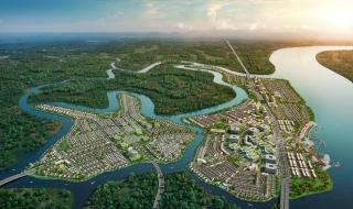 Phối cảnh khu đô thị Aqua City Biên Hòa