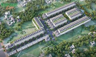 Phối cảnh dự án Tân Phước Center Bình Phước