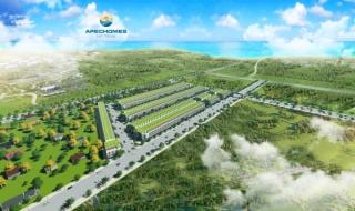 Phối cảnh dự án Apec Homes Hồ Tràm