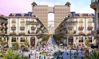 Phối cảnh phố thương mại Royal Vạn Phúc
