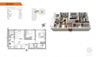 Mặt bằng chi tiết dự án chung cư Bea Sky
