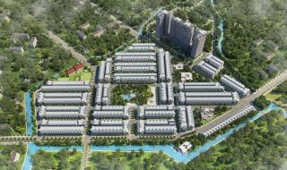 Phối cảnh dự án Qi Island Bình Dương